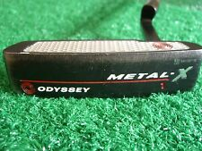 "Odyssey Metal-X #1 34"" Heel-Shafted right hand blade insert Putter W/Head Cover"