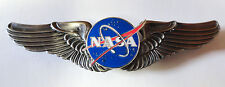 NASA HARD ENAMELED PILOT WINGS