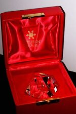 NEW in RED BOX STEUBEN glass DIAMOND TEARDROP crystal ornament paperweight prism