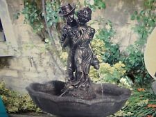 Tuscany Water Fountain Garden Feature Bronze Affect Finish