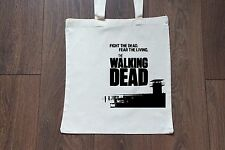Tote Natural Cotton Fashion Shopper Bag Gym Shopping Beach - The Walking Dead