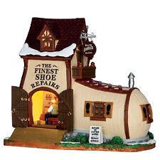 Lemax Village Collection Eli's Cobbler Shoppe #65123 Leather & Shoe Repair Shop