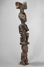Yoruba, Staff for Shango, South Western Nigeria, African Tribal Art