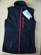 Vest Ultraport Softshell Sleeveless Zipped Vest Jacket Black Trim Small New+Tags