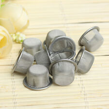 10PCS Quartz Crystal Smoking Pipes Wand Metal Filters Accessories
