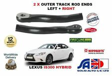 FOR LEXUS IS300 HYBRID 2013-  NEW LEFT+RIGHT SIDE OUTER TRACK TIE ROD ENDS