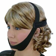 CPAP CHIN STRAP FOR SLEEP APNEA USE WITH ANY CPAP MASK KEEPS MOUTH CLOSED