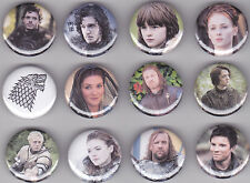 Game Of Thrones Set #1 Set of 12 Pinback Buttons