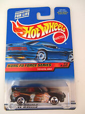 HOT WHEELS 2000 TOYOTA MRS KUNG FU FORCE SERIES 1/4 CARS SOFT CORNER