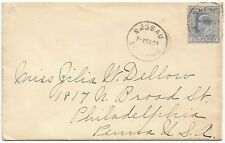 Bahamas KEdVII 2 1/2d on Hotel Colonial crested cover to USA