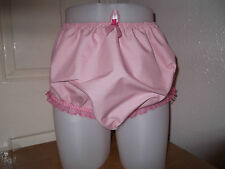 ADULT BABY~SISSY~MAIDS~FETISH~ PVC LINED COTTON & LACE PANTS~NAPPY~DIAPER COVER