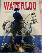 Vintage War Board Game 1962 Adults Avalon Hill Napoleonic Campaign Waterloo