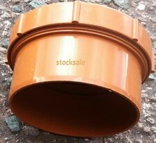 Underground Drainage 110mm Screwed Access Cap new