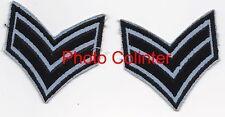 Paire de galons non identifiés - Corporal RAF Regiment ?