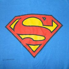 VTG 80S SUPERMAN T-SHIRT XL ORIGINAL DC COMICS TEE GRAPHITTI comic book