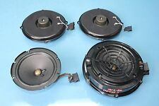 2005 PORSCHE CAYENNE S 4.5L V8 AWD #4 FRONT AND REAR BOSE DOOR SPEAKERS OEM