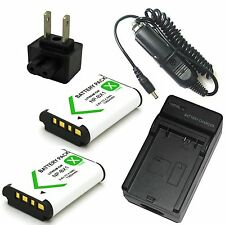 Charger+2x Battery for Sony HDR-CX240 HDR-CX405 Digital HD Video Camera Recorder