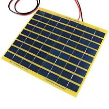 5W 18V Clamp Polycrystalline Cells Solar Panel Poly Battery Charger Power