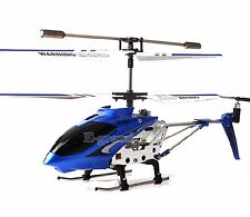 Blue Syma S107 S107G 3.5CH Alloy Mini Remote Control RC Helicopter Gyro Genuine