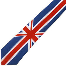 NEW United Kingdom UK Union Jack Flag Great Britain Tie