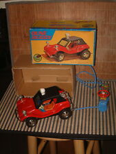 RARE VINTAGE BANDAI & SHINSEI DUNE BUGGY W/TETHERED REMOTE. FULLY WORKING W/BOX!