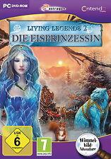 LIVING LEGENDS 2 * DIE EISPRINZESSIN * WIMMELBILD-SPIEL  PC DVD-ROM