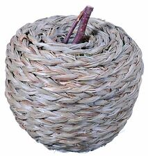 Woven Straw Apple Natural Green Country Fruit Craft Floral Decor Filler New 626x