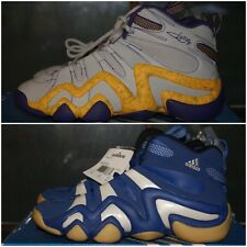 Mens Adidas Crazy 8 5.5 6 6.5 7 10 11.5 12 Blue White Gray Purple Yellow LAKERS