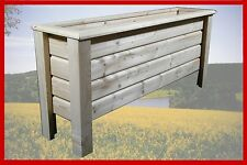 Classic Pflanzkasten aus Holz Blumenkasten Pflanzkübel Pflanztrog  50x30x30 cm