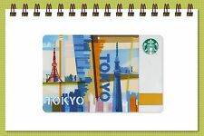 Starbucks Japan 2012 TOKYO City Limited Edition Starbucks Card with Sleeve