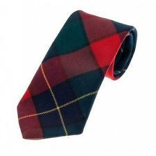 Mens Kilgour Modern Tartan 100% Lambswool Scottish Tie