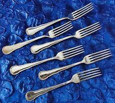 WMF 3200 Barock - 6 Vorspeisegabeln / Gabeln - 18,1 cm - Silber-90
