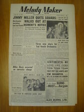 MELODY MAKER 1950 SEP 30 JIMMY MILLER TED HEATH JAZZ