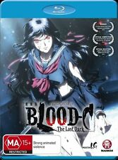 Blood-C: The Last Dark (Movie) Blu-ray Discs NEW