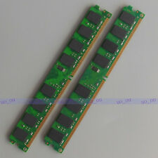 Low-density 4GB 2X2GB PC2-6400 DDR2 800 800mhz Desktop Dimm Ram Memory 240PIN