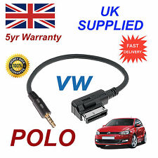 Genuine VW POLO MMI 000051446D 3.5mm jack MP3 iPod in car Cable replacement