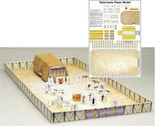 TABERNACLE PAPER MODEL - Laminated by Rose Publishing, 2005  **Brand New**