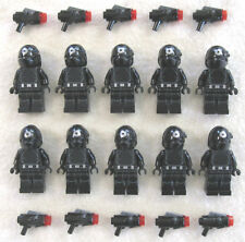 10 NEW LEGO STAR WARS IMPERIAL GUNNER MINIFIG LOT death star troopers 75034