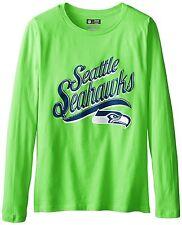NFL Seattle Seahawks Women's Long Sleeve Tee, Green