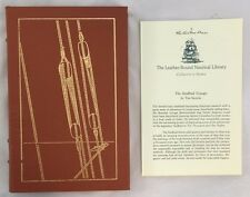 Easton Press Leather The Sindbad Voyage Tim Severin Nautical Library