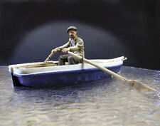 1/35 Scale Resin Rowing boat (no figure, boat only)