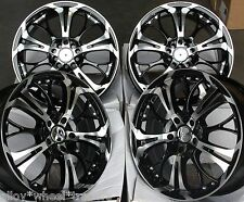 "17"" dare ghost alloy wheels fit mercedes a b c e r classe cla gl glk viano vito"