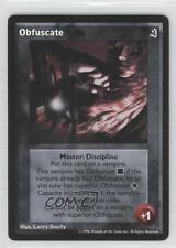 1996 Vampire: The Eternal Struggle - Sabat Expansion Set #NoN Obfuscate Card 1i3