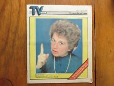 July 7, 1985 Minneapolis Star Tribune TV Week Mag(DR. RUTH  WESTHEIMER/DR. RUTH)