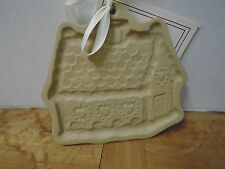 Brown Bag Cookie Art Mold and Recipe Book Gingerbread House New