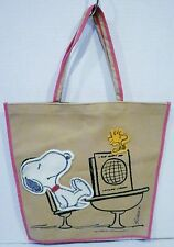 Simon Simple Peanuts Snoopy and Woodstock In A Classroom Book Bag