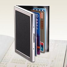 Credit Card Holder Protection Case IMS RFID Blocking Thin Aluminum Metal Wallet