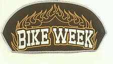 Motorcycle Club BIKE WEEK Color Patch 6 1/2 x 3 1/2 inches
