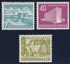 BERLIN, MiNr. 121-123, 121-23, tadellos postfrisch, gepr. Schlegel, Mi. 130,-