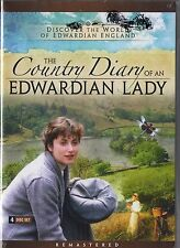 The Country Diary of an Edwardian Lady (DVD, 2012, 4-Disc Set) Pippa Guard